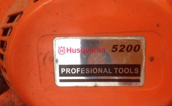 Бензопила husqvarna 5200