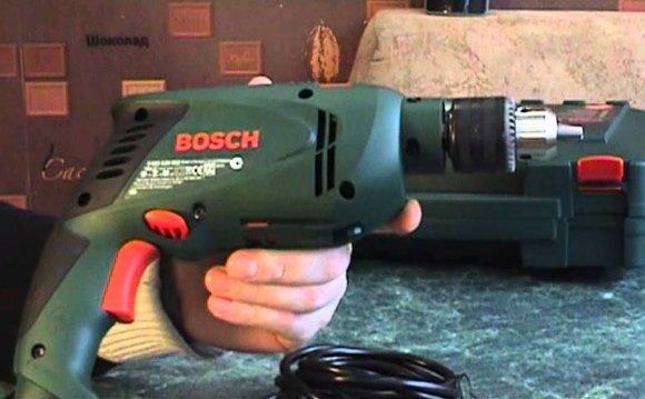 Обзор ударной дрели Bosch PSB